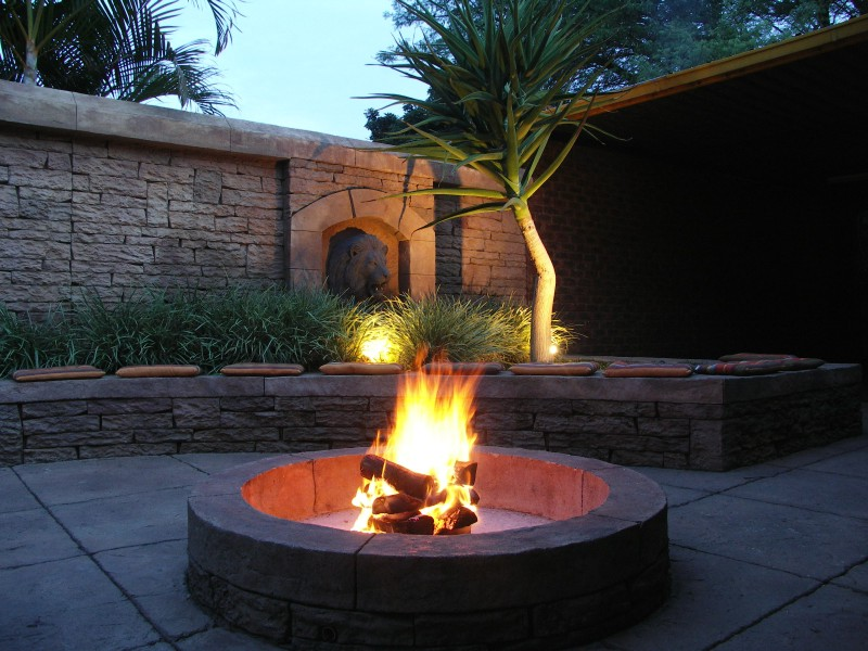 Fire Places, Boma, Pizza Oven & Braai's